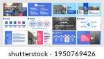 vector presentation templates....   Shutterstock .eps vector #1950769426