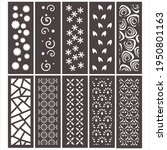 10 design set  jali design for...   Shutterstock .eps vector #1950801163