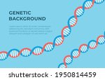 vector illustration of genetic... | Shutterstock .eps vector #1950814459