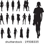fashion vector | Shutterstock .eps vector #19508335