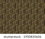 abstract geometric pattern with ... | Shutterstock .eps vector #1950835606