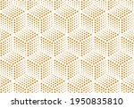 abstract geometric pattern. a... | Shutterstock .eps vector #1950835810