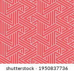 abstract geometric pattern with ... | Shutterstock .eps vector #1950837736