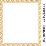 decorative frame elegant vector ... | Shutterstock .eps vector #1950838633