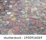 Rocks At Lake Mcdonald In...