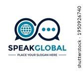 speak global or world chat... | Shutterstock .eps vector #1950926740