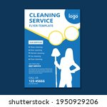 cleaning services flyer...   Shutterstock .eps vector #1950929206