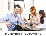 executive young businessman... | Shutterstock . vector #195094643