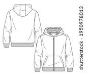 boys sweatshirt hoodie fashion... | Shutterstock .eps vector #1950978013