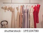 milan  italy   may 23  elegant... | Shutterstock . vector #195104780