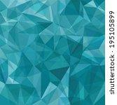 seamless geometric background... | Shutterstock .eps vector #195105899