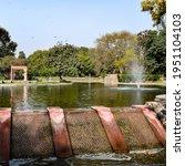 Fountain In The Garden Of...