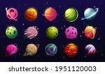 space planets  cartoon fantasy...
