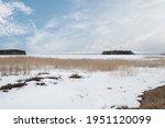 Spring View In Lake Pyhaselka ...