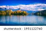 Famous Alpine Bled Lake ...