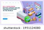 online trading marketplace  buy ...   Shutterstock .eps vector #1951124080