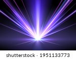 abstract neon light rays... | Shutterstock .eps vector #1951133773