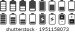 signal and battery icons.... | Shutterstock .eps vector #1951158073