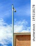 street surveillance camera | Shutterstock . vector #195118178