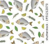 beautiful seamless pattern ... | Shutterstock .eps vector #1951212073