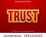 trust text effect template...   Shutterstock .eps vector #1951216423