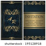 Template Of Invitation. Vintag...