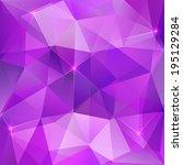 Violet Shining Crystal Abstrac...