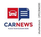 car news vector logo template....   Shutterstock .eps vector #1951306030