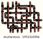 abstract curve modern big iron...   Shutterstock .eps vector #1951310506