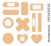 adhesive plaster. creative...   Shutterstock .eps vector #1951420210