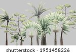 seamless floral pattern with... | Shutterstock . vector #1951458226