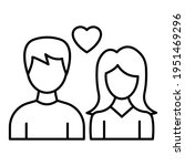 romance vector icon which can... | Shutterstock .eps vector #1951469296