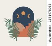 modern abstract aesthetic print ... | Shutterstock .eps vector #1951478083