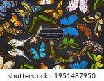 design on dark background with... | Shutterstock .eps vector #1951487950
