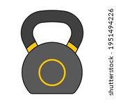 weights kettlebell as workout...   Shutterstock .eps vector #1951494226