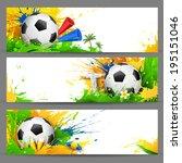 Illustration Of Soccer Ball In...