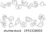 vector one line drawing ...   Shutterstock .eps vector #1951528003
