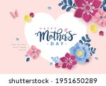 happy mother's day greeting...   Shutterstock .eps vector #1951650289