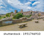 Tuscania (Italy) - A gorgeous etruscan and medieval town in province of Viterbo, Tuscia, Lazio region. It