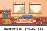 nursery classroom scene with...   Shutterstock .eps vector #1951824553