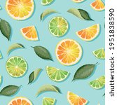vector seamless pattern with...   Shutterstock .eps vector #1951838590