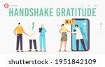 patient gratitude doctors with...   Shutterstock .eps vector #1951842109