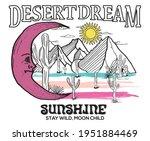 sunshine desert dream vector... | Shutterstock .eps vector #1951884469