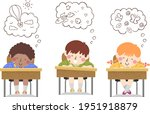 illustration of kids students... | Shutterstock .eps vector #1951918879