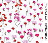 floral vector rustic pattern... | Shutterstock .eps vector #1951931713