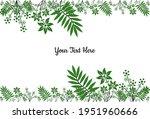 vector graphic of flower green...   Shutterstock .eps vector #1951960666