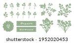 vector  monochromatic... | Shutterstock .eps vector #1952020453