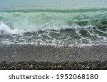 Transparent Clear Sea Wave...
