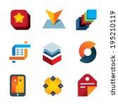 create startup new innovation... | Shutterstock .eps vector #195210119