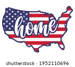 home   usa flag in united... | Shutterstock .eps vector #1952110696